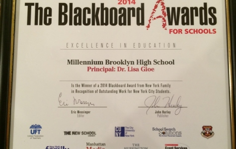 MBHS Wins Award for Outstanding High School